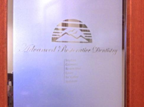Advanced Restorative Dentistry office door